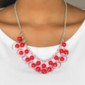 Really Rococo - Red Necklace Set
